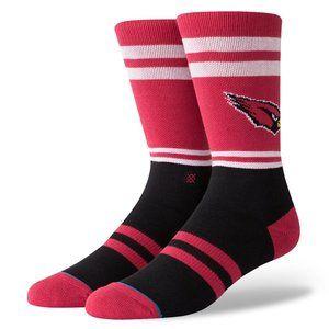 STANCE NFL Arizona Cardinals Logo Socks Sz L 9-12